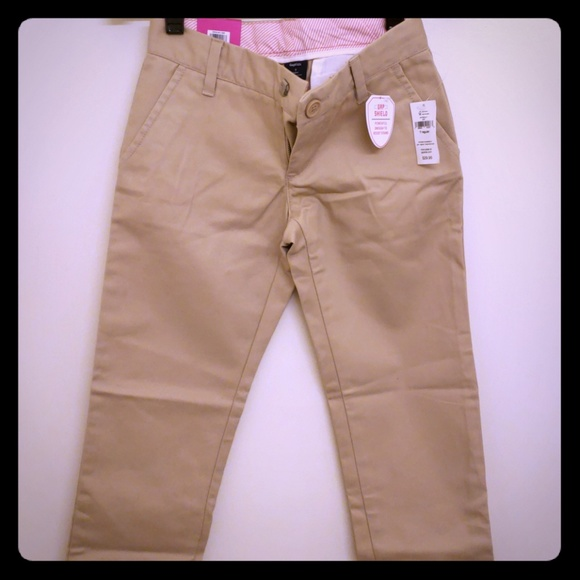 7c3e97681a14c5 Gap Kids Beige Straight Leg Chino